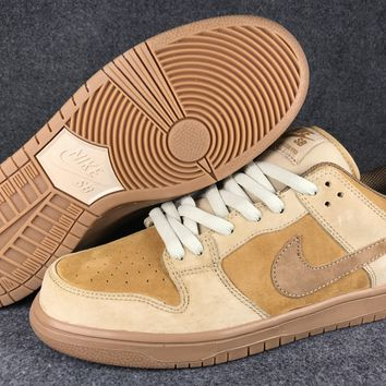 Nike Sb Dunk Low Qs Wheat 883232 700 36 45