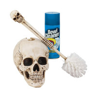 Park Avenue Collection Bathroom Skullduggery Toilet Bowl Brush