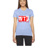 WTF WHERE'S THE FIREBALL - Women's Tee