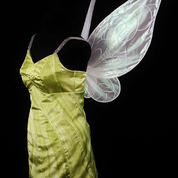 Adult Tinkerbell Costume with Wings Custom Made