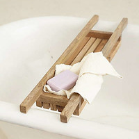 Anthropologie - Bay Crate Bathtub Caddy