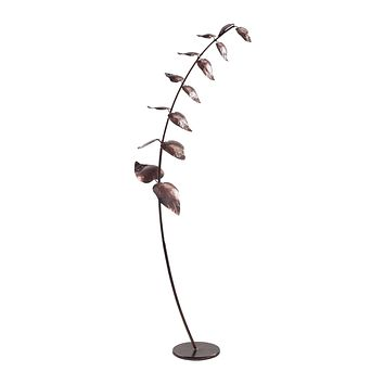 7159-019 Leaning Leaf Branch Sculpture - Free Shipping!