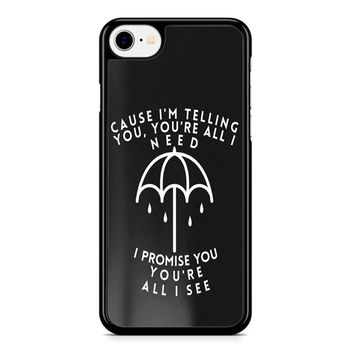 Bring Me The Horizon Lyric iPhone 8 Case