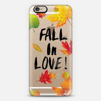 FALL in Love iPhone 6 case by Allison Reich | Casetify