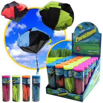 Mini Hand Throwing Outdoor Parachute Toy