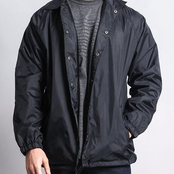 Waterproof Windbreaker Coach Jacket WV6001 - N8A