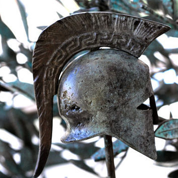 Bronze Helmet Greece Sparta by GreekMythos on Etsy