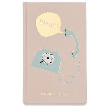 kate spade new york Address Book- Hello