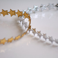 SALE Baby/toddler halo crown headband, Silver or gold star headband, Photography prop, Newborn, Baby, Toddler, Adult