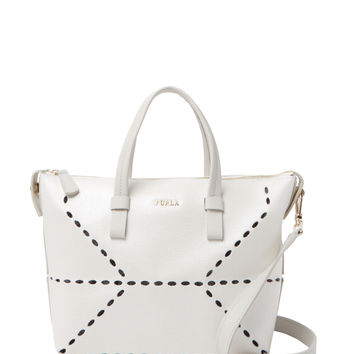 Furla Women's Jolie Small Foldable Tote - White