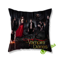 The Vampire Diaries (2) Square Pillow Cover