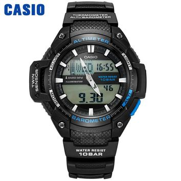 Casio WATCH mountaineering series outdoor waterproof sports electronic male watch SGW-450H-1A SGW-500H-2B