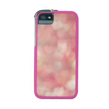 Pretty Pink Love Hearts iPhone 5/5S Case