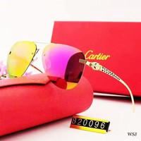 Cartier Fashion New  Polarized More Color Women Men Sunscreen Glasses Eyeglasses