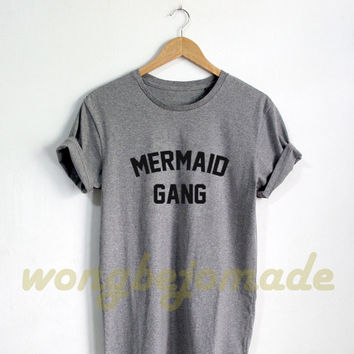 Mermaid Shirt - Disney Princess Tshirt Mermaid Shirt Cute Womens Top Funny Slogan T-Shirt Unisex Size Tshirt