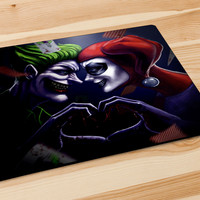 Joker And Harley Quinn Mousepad | Aneend