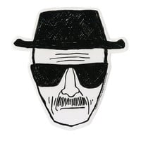 Breaking Bad Heisenberg Sticker