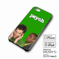 Psych Gus and Shawn iPhone case 4/4s, 5S, 5C, 6, 6 +, Samsung Galaxy case S3, S4, S5, Galaxy Note Case 2,3,4, iPod Touch case 4th, 5th, HTC One Case M7/M8
