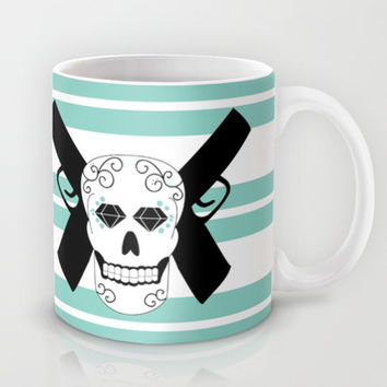 Sugar Skull Mug by NicoleSclafaniGFX