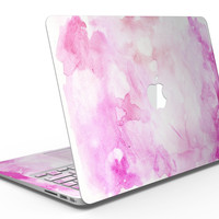 Pink v4 Absorbed Watercolor Texture - MacBook Air Skin Kit