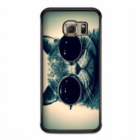 smart cat For samsung galaxy s6 edge case