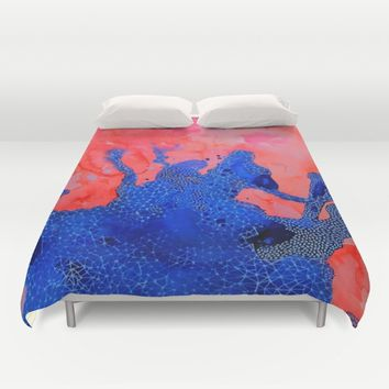 Sense of Self Duvet Cover by DuckyB