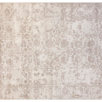 "5'7""x7'9"" Cassie Rug, Ivory/Gray, Area Rugs"