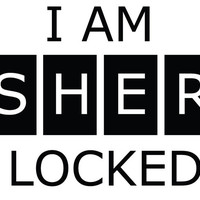 I AM SHERLOCKED Decal Sticker