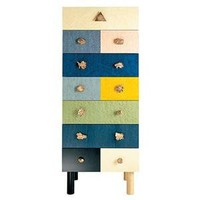 Zanotta Genesio Chest Of Drawers By Alik Cavaliere - Zanotta - Home Furnishings - Unica Home