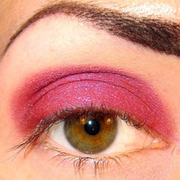 Parfait Eyeshadow Mineral makeup (Bright Fuchsia Pink purple) Some Like it Hot Collection Eye shadow Eyeliner (5g)