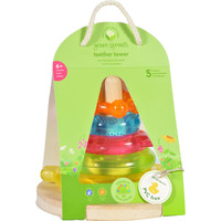 Green Sprouts Stacking Teether Tower - 6 Months Plus
