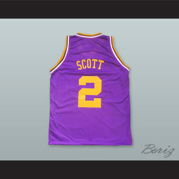 Damon Wayans Lewis Scott 2 Basketball Jersey Celtic Pride