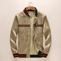 GUCCI New Fashion Bee More Letter Print Cardigan Jacket Coat
