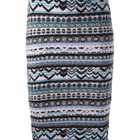 Sister By Sibling Fair Isle Knitted Skirt