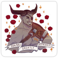 Iron Bull Approval - Dragon Age by endrae