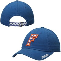 Top Of The World Florida Gators Ladies Royal Blue Chevron Crew Adjustable Hat