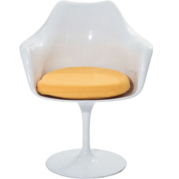 Tulip Armchair Yellow