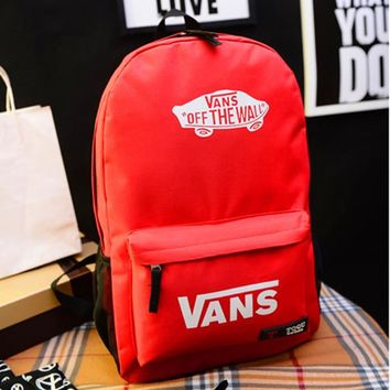 Casual Comfort Back To School Hot Deal College On Sale Canvas Korean Stylish Alphabet Backpack [415637045284]