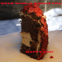 Vegan Love Raspberry Mocha Chocolate Mini Cake, Natural,healthy ingredients,Love and Compassion,Birthday,Wedding.