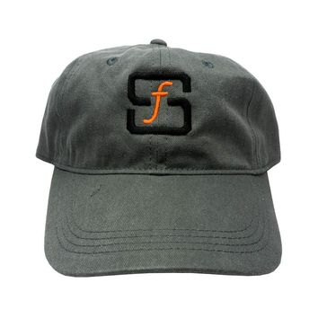SF Native Classic Cap in grey denim