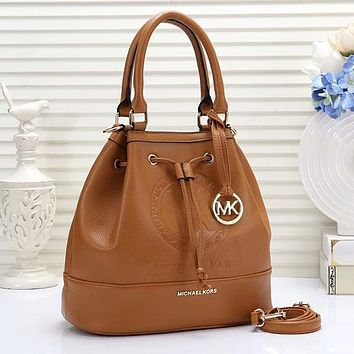 Michael Kors MK Women Fashion Tote Crossbody Shoulder Bag Bucket Bag