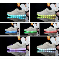 LED luminous shoes men and women fashion sneakers USB charging light shoes colorful glowing couples leisure flat shoes-in Flats from Shoes on Aliexpress.com | Alibaba Group