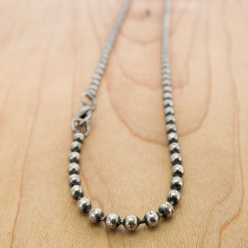 Men's Necklace - Men's Silver Necklace - Men's Chain Necklace - Men's Jewelry - Men's Gift - Boyfriend Gift - Husband Gift - Guys Jewelry