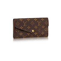 Lv Monogram Canvas Sarah Wallet Article: M60531