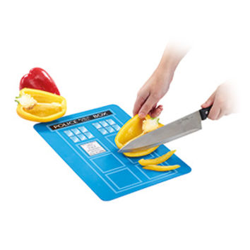 Doctor Who TARDIS Chopping Board