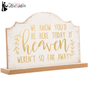 We Know You'd Be Here Today Wood Decor | Hobby Lobby | 1598481