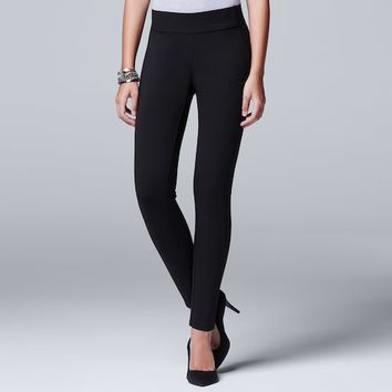 Women's Simply Vera Vera Wang Pull-On Skinny Pants