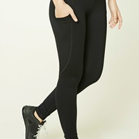 Active Contrast Waist Leggings