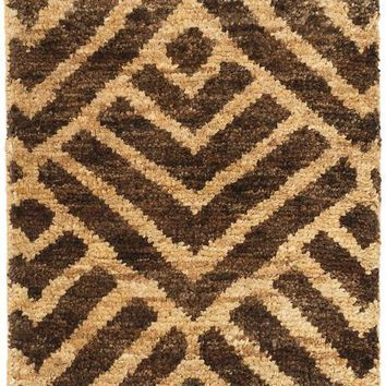 ZAGORA HAND KNOTTED JUTE RUG