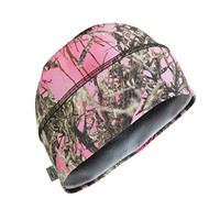 Turtle Fur Camo - Comfort Shell Brain Shroud, Lightweight Performance Beanie, TrueTimber MC2 Pink